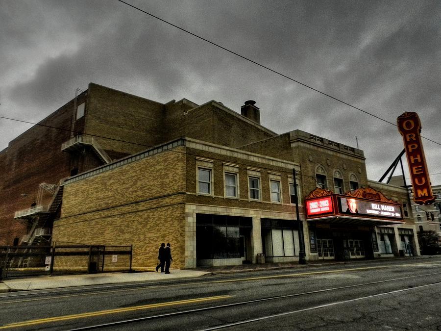 Memphis Photograph - Memphis - The Orpheum 001 by Lance Vaughn
