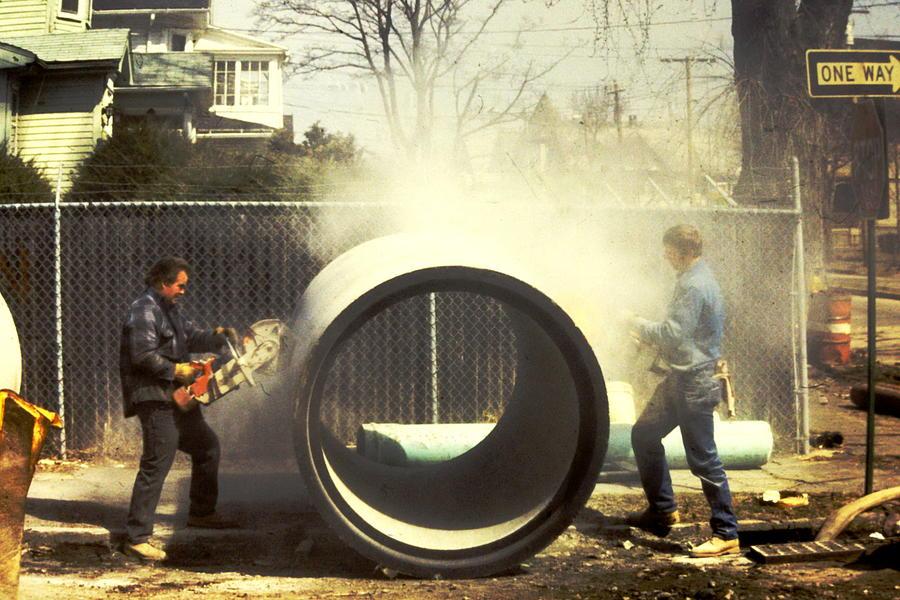 Men At Work Photograph - Men At Work by Norberto Medina Jr