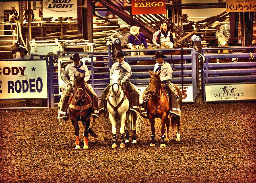 Men Of The Rodeo Photograph