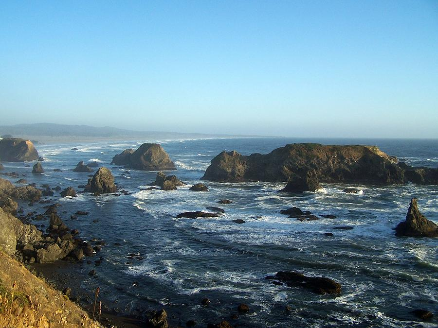Mendocino Coast Photograph by Dianne Stopponi
