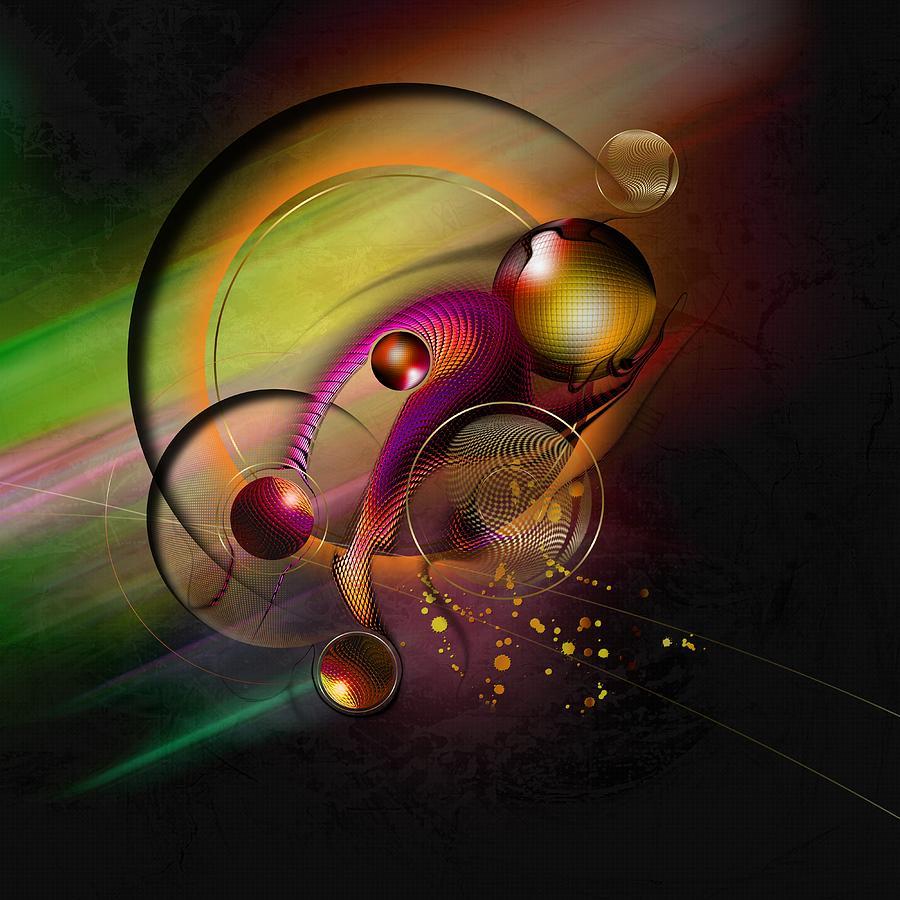 Universe Digital Art - Mene Teckel by Franziskus Pfleghart