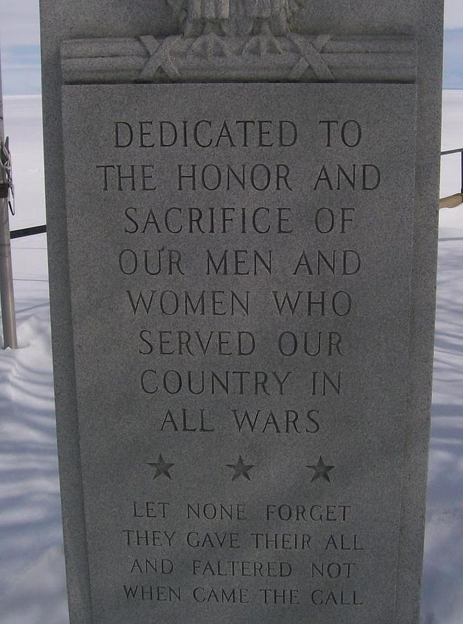 Timeline Photograph - Menominee Memorial by Jonathon Hansen