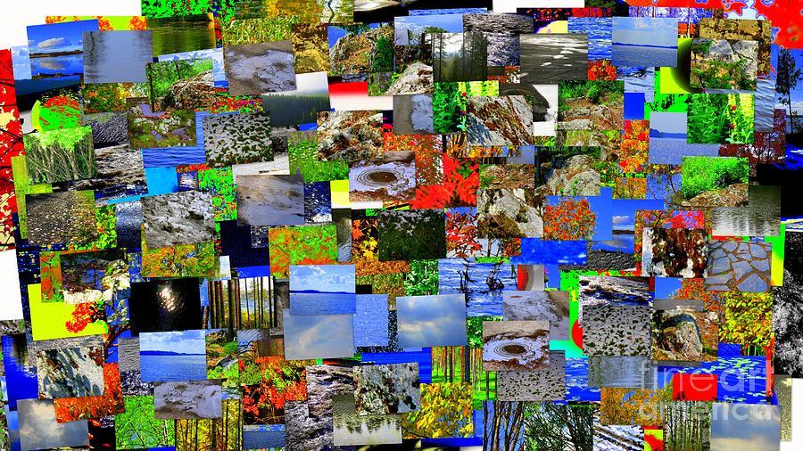 Mental landscape by Pauli Hyvonen