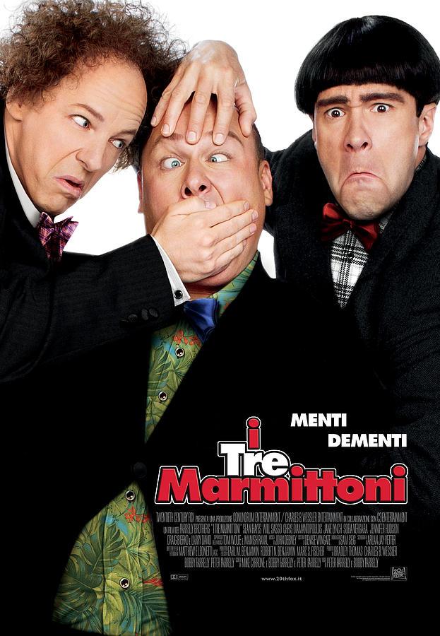 The Three Stooges Digital Art - Menti Dementi by The Three Stooges Movie