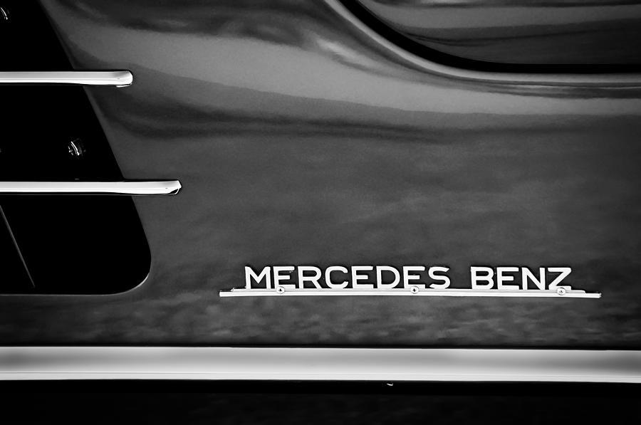 Mercedes Benz Emblem Photograph - Mercedes-benz Emblem by Jill Reger