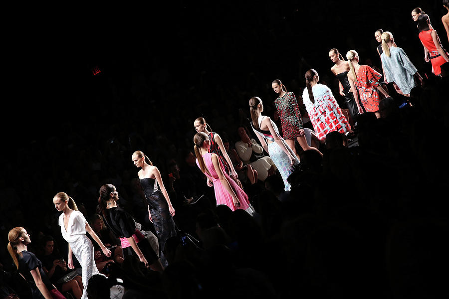 Mercedes-benz Fashion Week Spring 2015 Photograph by Cindy Ord