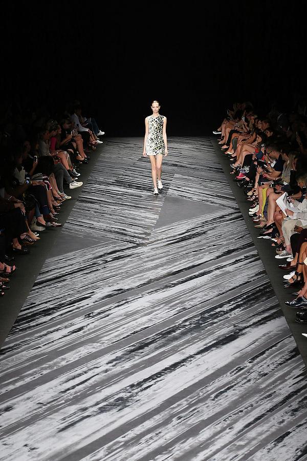 Mercedes-benz Fashion Week Spring 2015 Photograph by Neilson Barnard