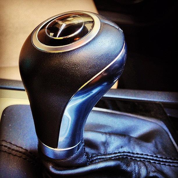 Knob Photograph - Mercedes-benz Gear Knob #mercedes-benz by Rachit Hirani