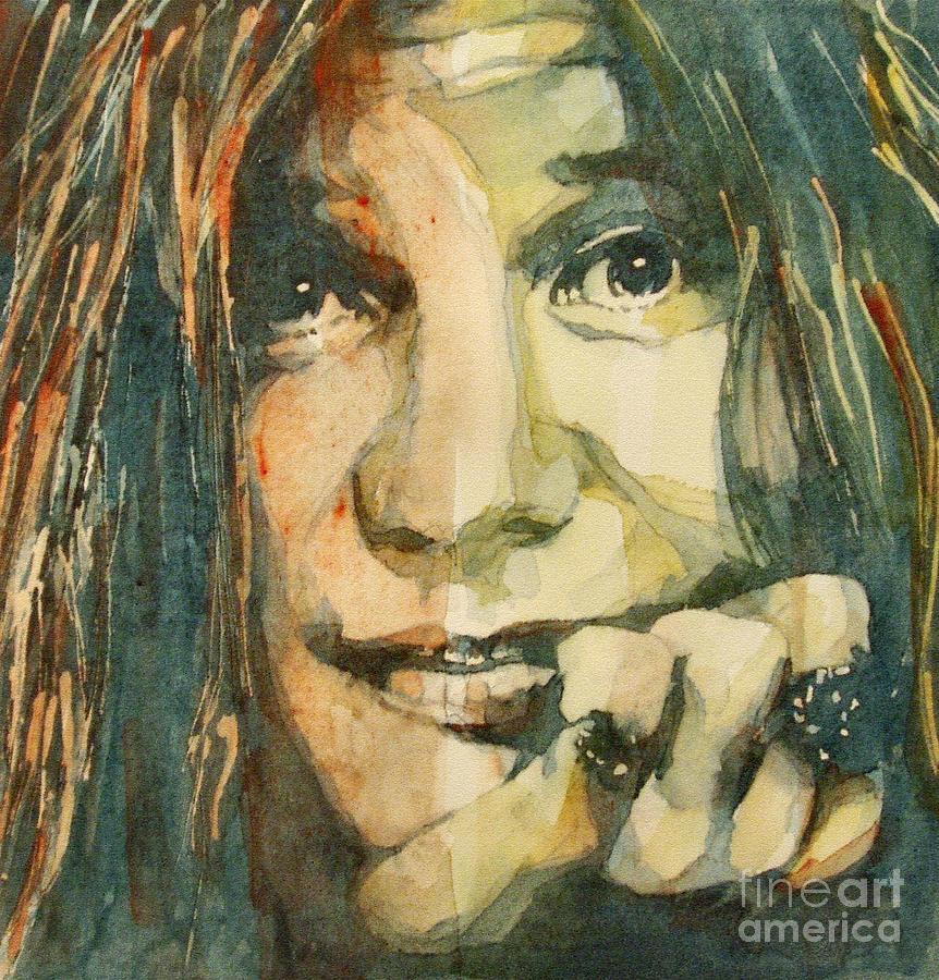 Janis Joplin Painting - Mercedes Benz by Paul Lovering