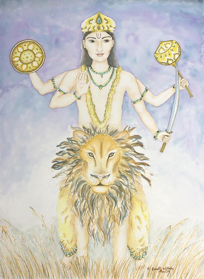 Vedic Astrology Painting - Budha Mercury by Srishti Wilhelm