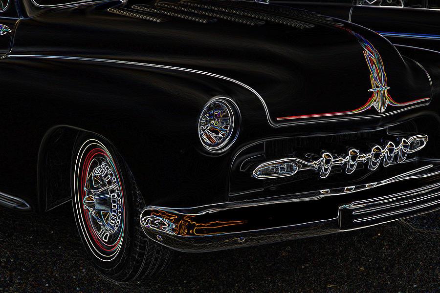 50 Merc Photograph - Mercury Glow by Steve McKinzie