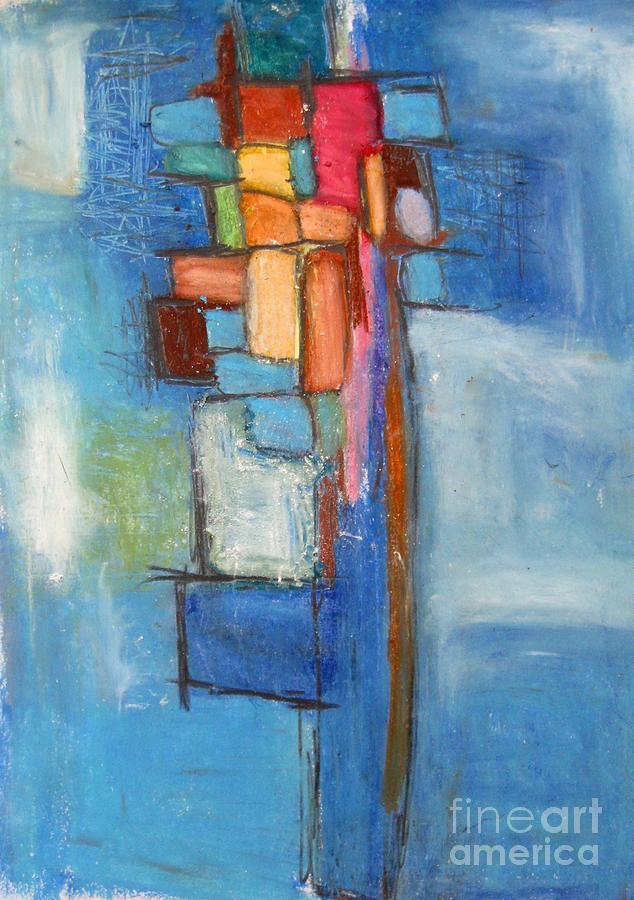 Abstract Painting - Merge by Venus