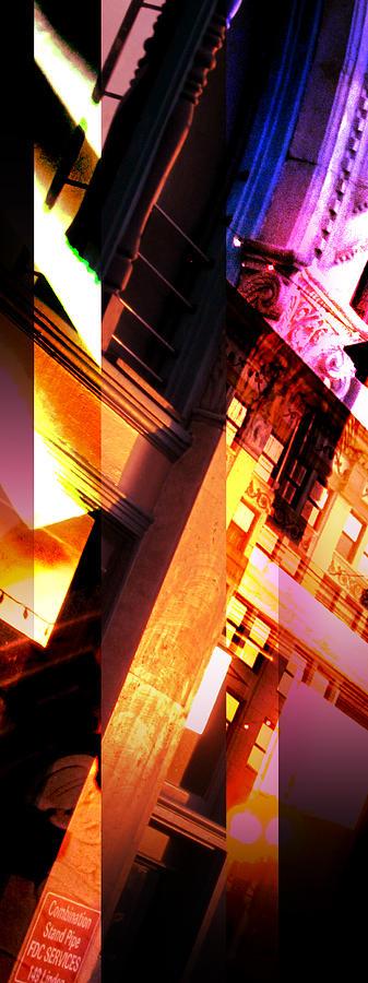 Merged Photograph - Merged - Arched Pink by Jon Berry OsoPorto