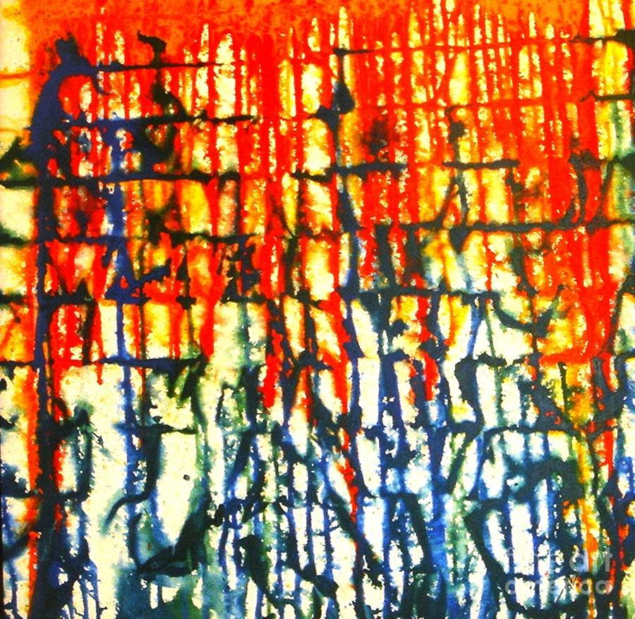 Merging Painting - Merging Emotion by Baljit Chadha