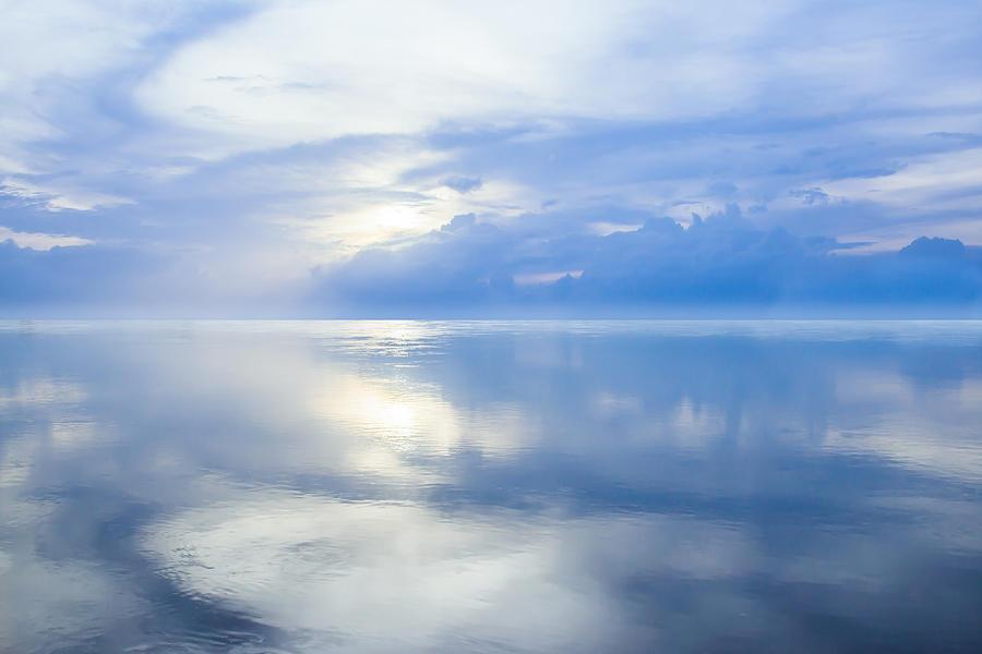 Horizon Photograph - Merging Horizons by Nila Newsom