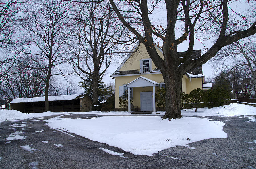 Meeting Photograph - Merion Meeting House - Narberth Pa by Bill Cannon