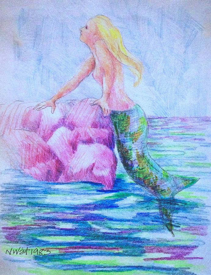 Mermaid A by Nancy Wait