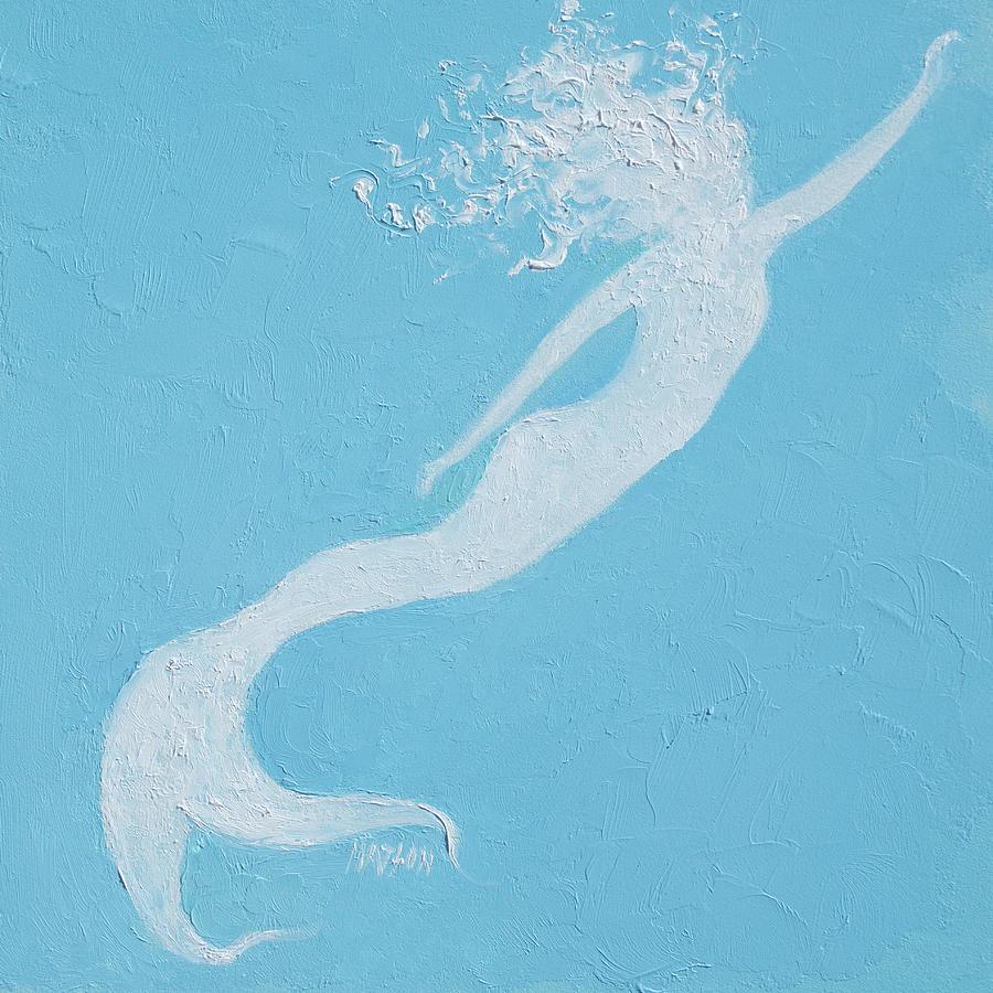 Mermaid Painting - Mermaid by Jan Matson