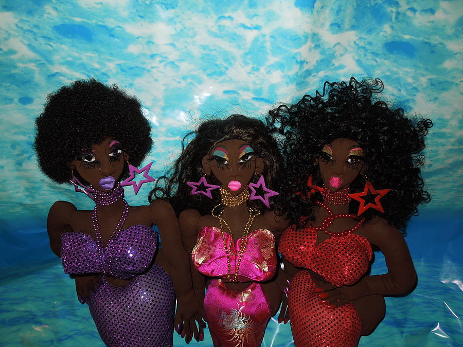 Fantasy Sculpture - Mermaids And Sirens by Cassandra George Sturges