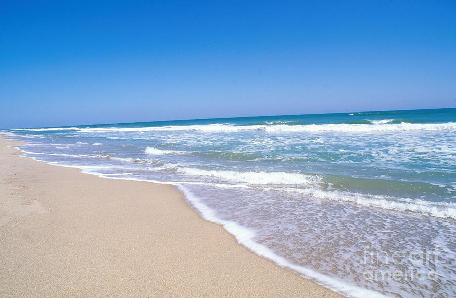 Beach Photograph - Merritt Island Nwr, Florida by Millard H. Sharp