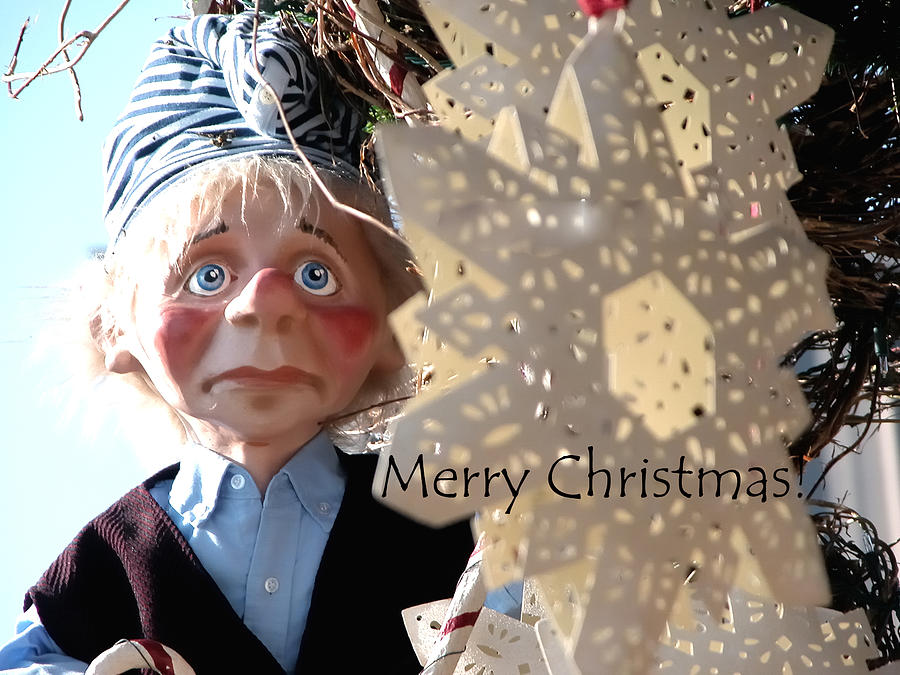 Merry Christmas Clown 0208 Photograph