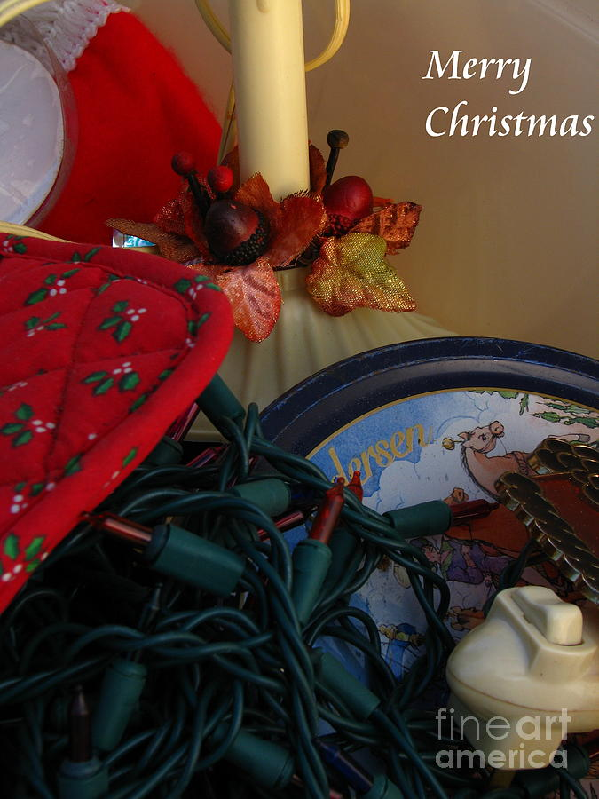 Patzer Photograph - Merry Christmas by Greg Patzer