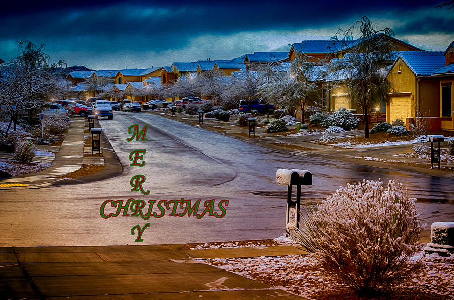 Merry Christmas - Neighborhood Photograph