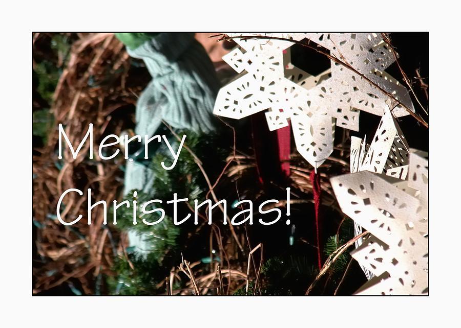 Merry Christmas Ornament 0205 Photograph