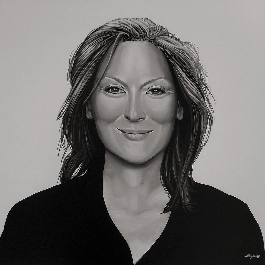 Meryl Streep Painting - Meryl Streep by Paul Meijering