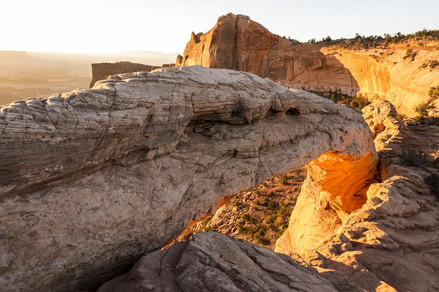 Canyonlands Photograph - Mesa Arch Sunrise 6 - Canyonlands National Park - Moab Utah by Brian Harig