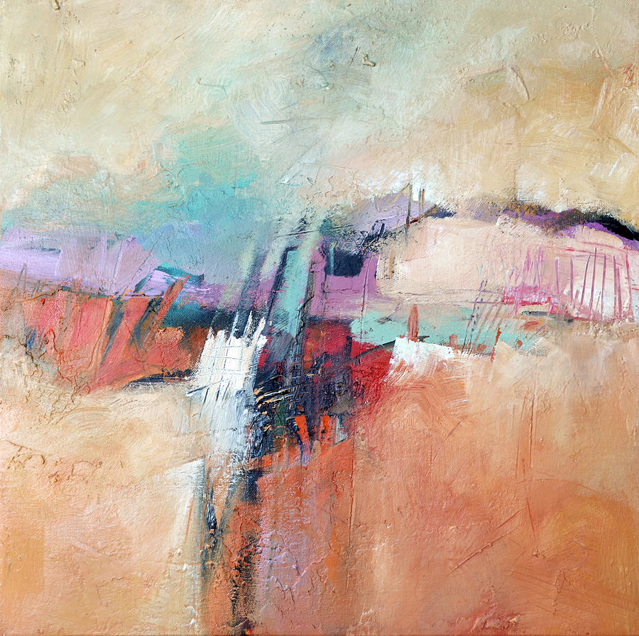 Abstract Painting - Mesa by Filomena Booth