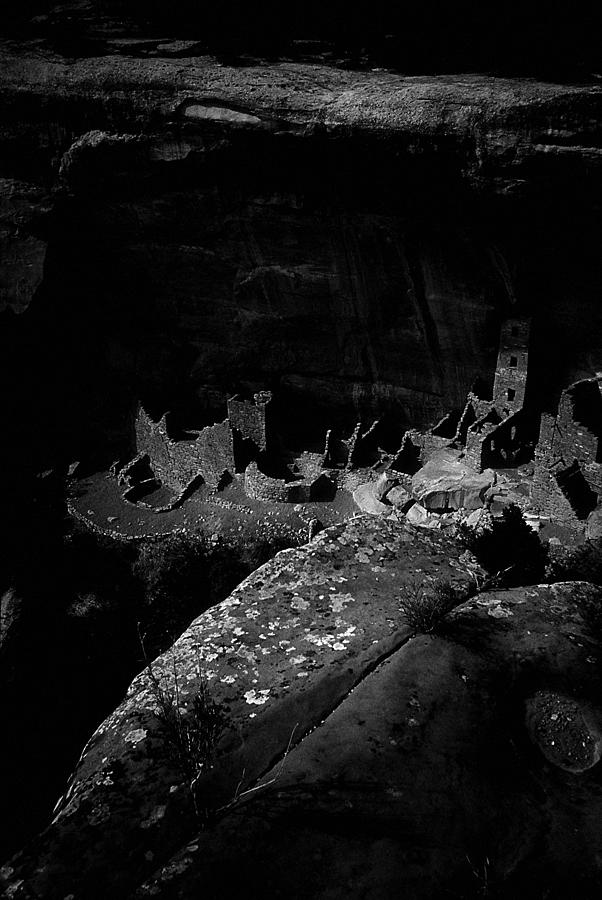 Mesa Verde Edged into the Light by David Bailey