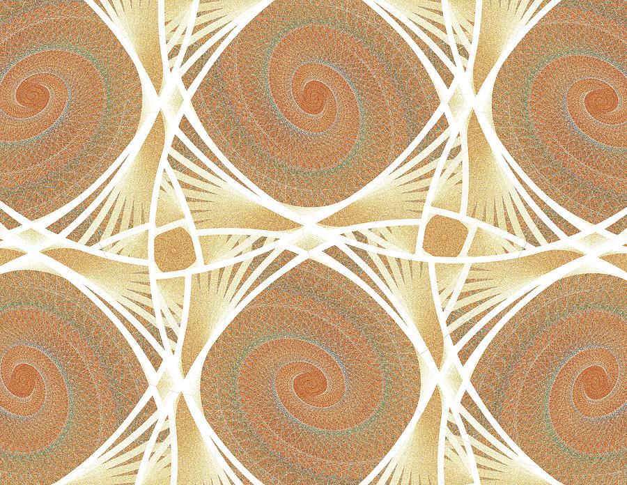 Netting Digital Art - Mesh by Anastasiya Malakhova