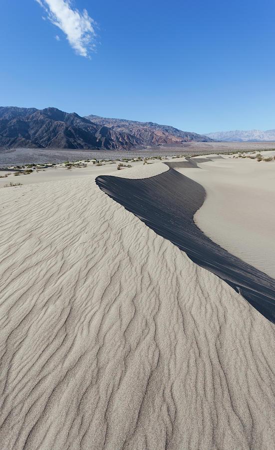 Mesquite Flat Sand Dunes, California Photograph by Tuan Tran