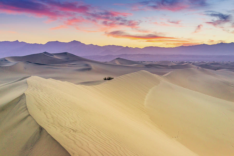 Mesquite Flat Sand Dunes Photograph by Zx1106