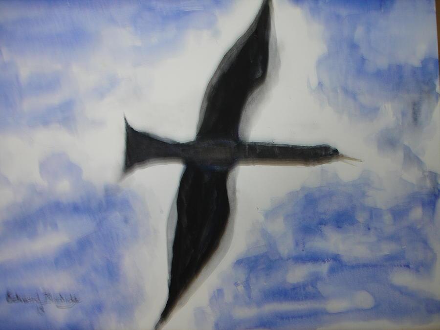 Messenger Miracle Painting by Edward Burbidge