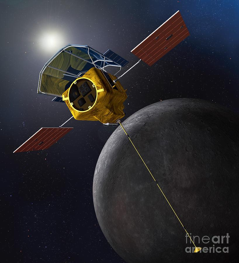 messenger spacecraft to mercury 2009 picture - 818×900