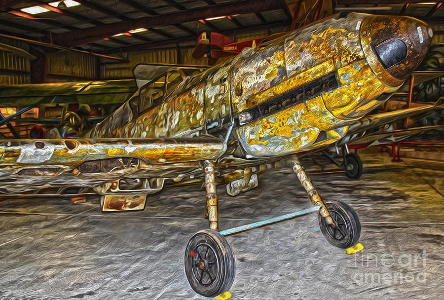 Messerschmitt Painting - Messerschmitt by Gregory Dyer