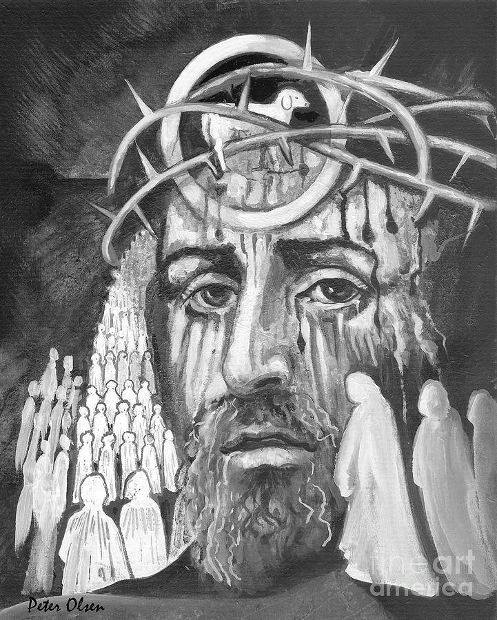 Messiah Painting - Messiah by Peter Olsen