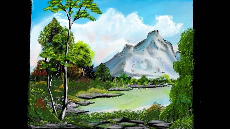 Mountain Digital Art - Messy Greenery by Arjuna Enait