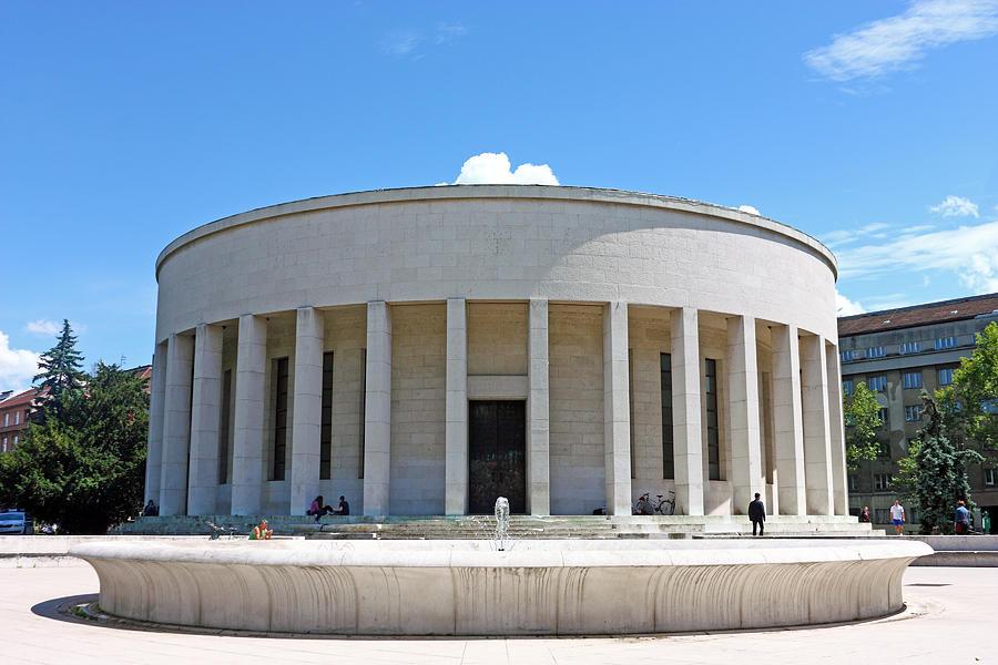 Croatia Photograph - Mestrovic Pavilion Rotunda Zagreb by Borislav Marinic
