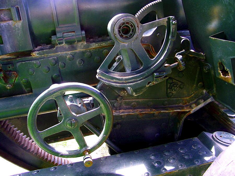 Japanese Photograph - Antique Canon Mechanisms by Dale Jackson
