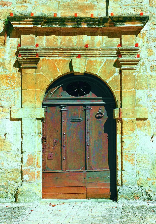 Metal Door Photograph by Gkuna
