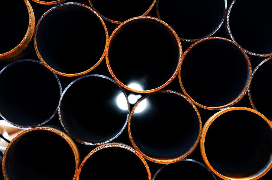 Metal Photograph - Metal Pipes by Fabrizio Troiani