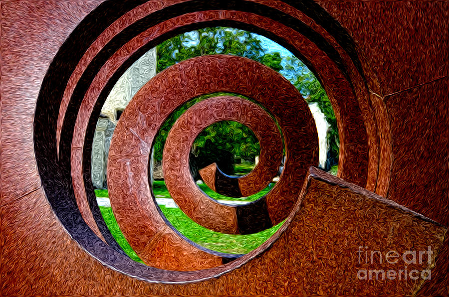 Metal Spiral Photograph