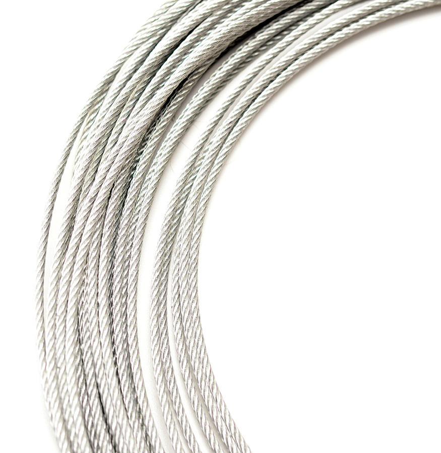 Metallic Rope Photograph by Happyfoto