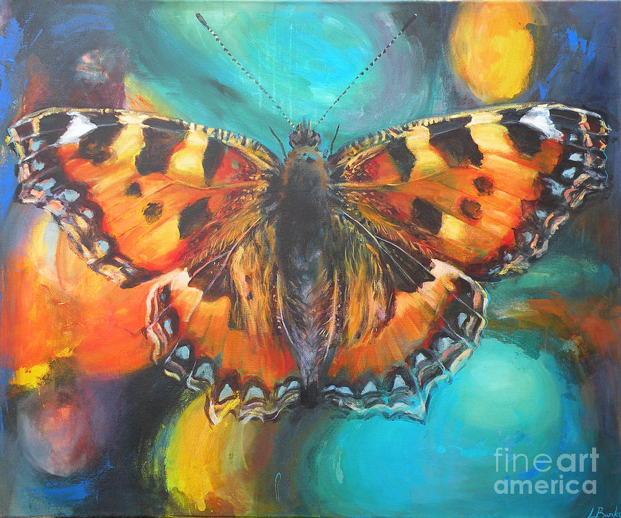 Butterfly Painting - Metamorphose by Leigh Banks