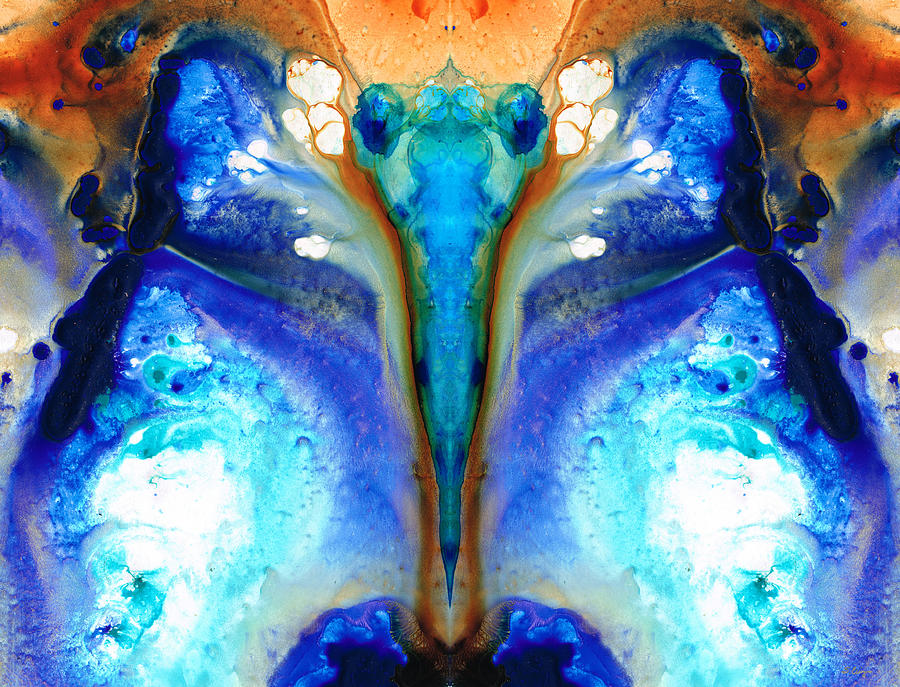 Abstract Painting - Metamorphosis - Abstract Art By Sharon Cummings by Sharon Cummings