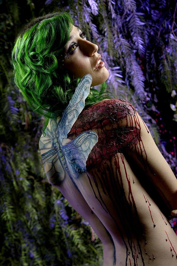 Female Photograph - Metamorphosis by Adam Chilson