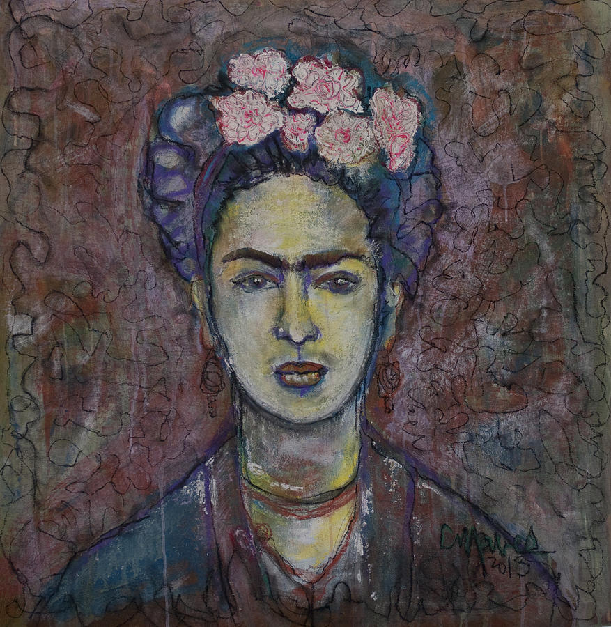 Frida Kahlo Painting - Metamorphosis Frida by Laurie Maves ART